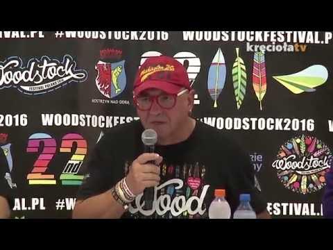Konferencja prasowa - Drugi dzień 22.  Przystanku Woodstock