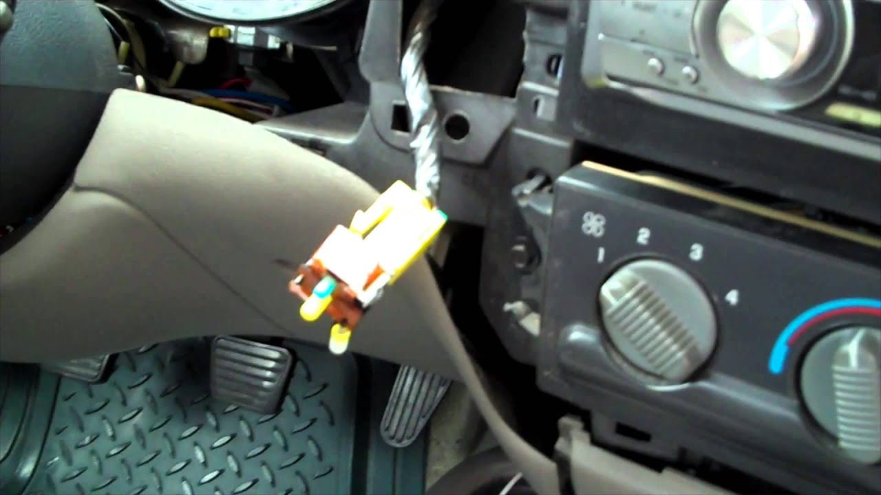 s10 passenger airbag switch removal 97 Chevy S10 Wiring Diagram