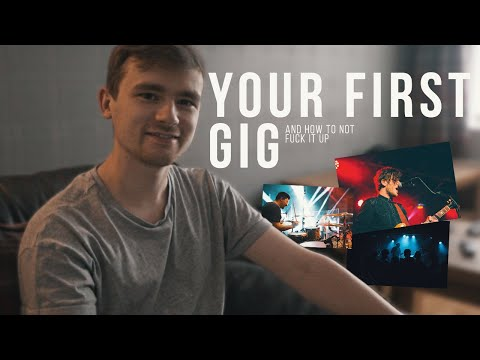 Tips For Your First Gig!  |  From Prep to Showtime to Load-out