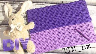 Как связать коврик из трикотажной пряжи. Вяжем крючком |TIM_hm|
