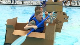 Build-A-Boat Challenge & Wacky Luau Party at Lajes Field