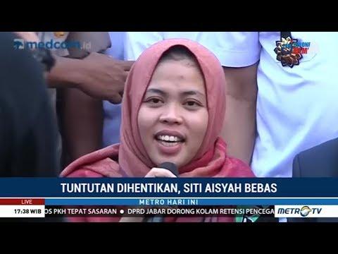 Siti Aisyah Ucapkan Terima Kasih Kepada Jokowi
