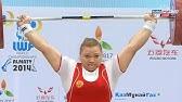 2014 World Weightlifting Championships, Women +75 kg \ Тяжелая Атлетика. Чемпионат Мира
