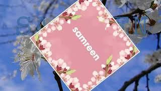 Samreen name status