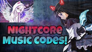 5 Most Popular Nightcore Music Codes! (ROBLOX)