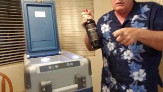 Part 1 Dometic CFX-35US 12 volt refrigerator freezer