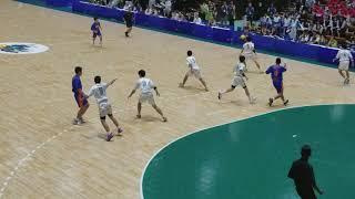 愛媛国体 ハンドボール少年男子 愛媛 vs 千葉 前半開始