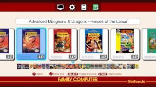 Attract Mode Famicom Mini / Nes Mini Theme V1.0 (WIP)