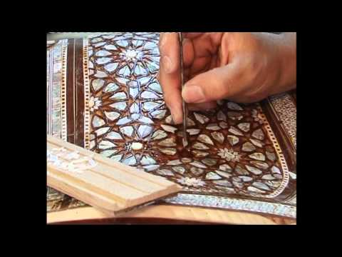 Luxury Crafts - Egyptian Mother-of-Pearl Inlay