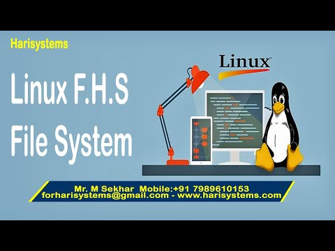 Linux tutorial for beginners | Linux File Hierarchy Standard | Linux filesystem | Harisystems thumbnail