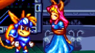 Sparkster (SNES) Bosses Battles (No Damage)