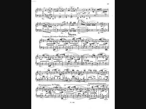 Schumann Op.68 No.34: 主題 Theme