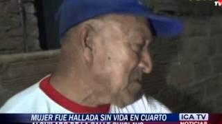 HALLAN MUJER MUERTA EN CALLE CHICLAYO