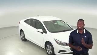 183026 - New, 2018, Chevrolet Cruze, LS, Sedan, White, Test Drive, Review, For Sale -