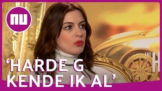 Actrice Anne Hathaway kan Nederlands - inclusief 'harde g'