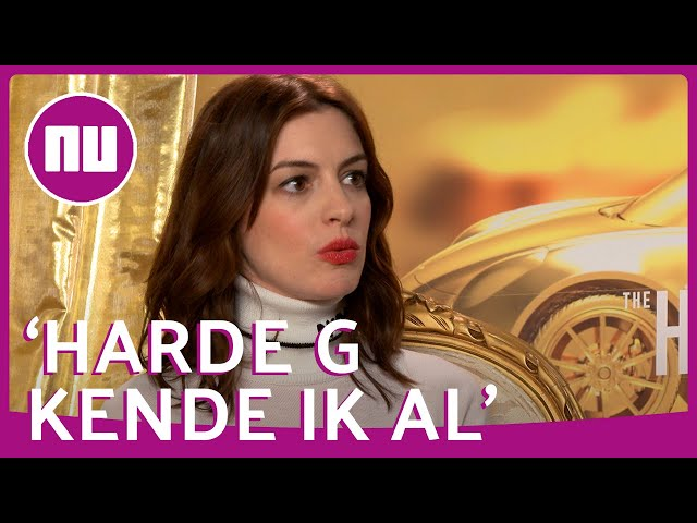 Anne Hathaway had weinig moeite met Nederlandse g leren