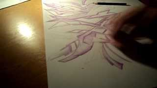 """Graffiti Drawing """"ZAK"""""""
