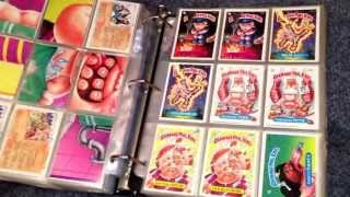 Garbage Pail Kids Cards - 1980s Entire Collection
