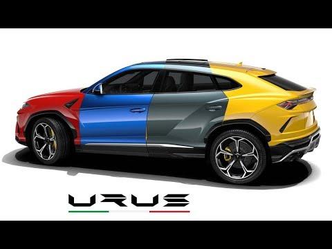 2019 Lamborghini Urus All Color Options Youtube