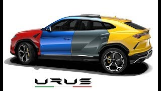 2019 Lamborghini Urus All Color Options