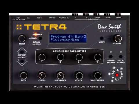 DSI Tetra 4 and Prophet REV2 Mellow Sound Demo