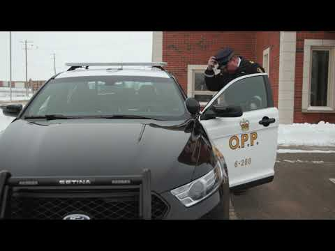 Ground-breaking Of New Huron County Ontario Provincial Police Detachment