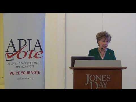 Congresswoman Madeleine Bordallo - Taste of Democracy 2017