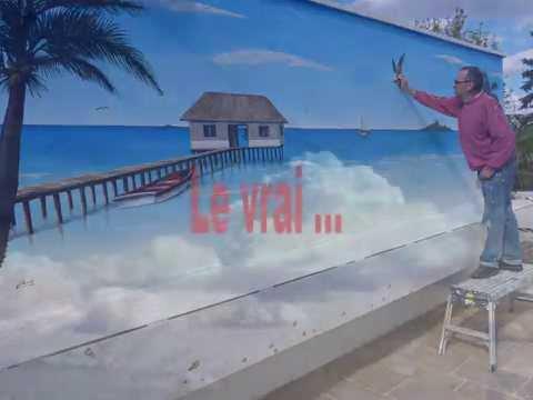 Fresque Carrelage Mural Exterieur Free Cool Latest Fresque Murale