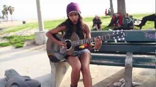 Starships Music Video - Simone Battle Cover