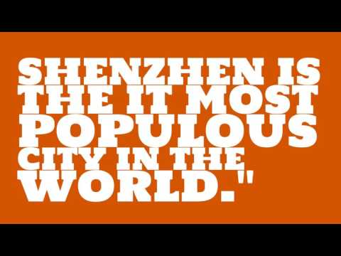 What is the population of Shenzhen?