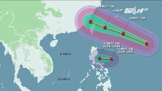 VTC14 | Bão và áp thấp nhiệt đới xuất hiện dồn dập gần biển đông