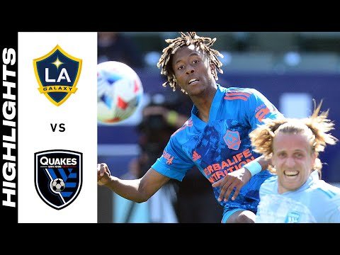 Los Angeles Galaxy San Jose Earthquakes Goals And Highlights