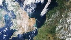 Hitzewelle 2018: Satellitenbilder zeigen die Folgen der extremen Temperaturen