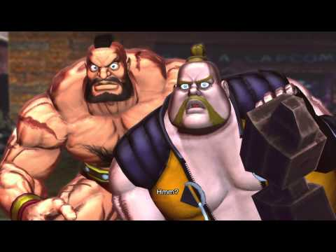 Street Fighter X Tekken playthrough_Zangief and Rufus