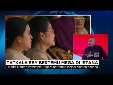 Tatkala SBY Bertemu Mega di Istana