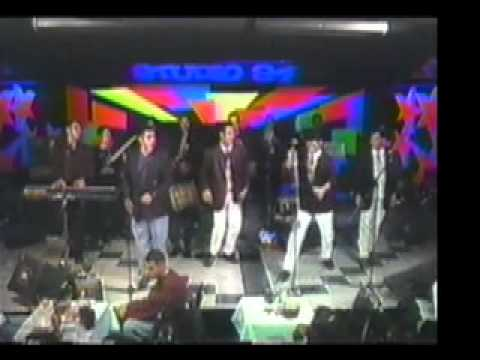 CESAR FLORES Y RICHARD MARCELL EN EL PIANO TEMA SALVAJE Año 1994 En New York