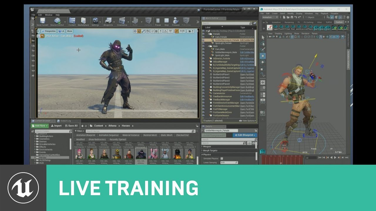 What's New for Animation in UE4 | Dev Days 2018 | Unreal Engine
