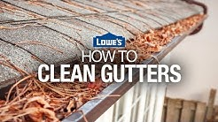 How to Clean Gutters & Install Gutter Guards