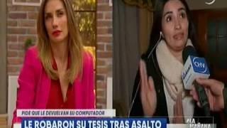 """Karen Torrealba Abarca en """"La Mañana"""" de Chilevisión"""