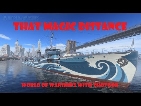 World of Warships- That Magic Distance