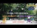 FLYING-TYPE-EPISODEN | GEN 1 MÖTER GEN 2 | EPISKA EVOLVES OCH GYM-STRIDER | POKÉMON GO SVENSKA