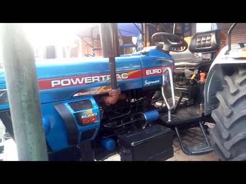 Powertrac Euro 50 Selling In Fatehabad Tractor Mandi