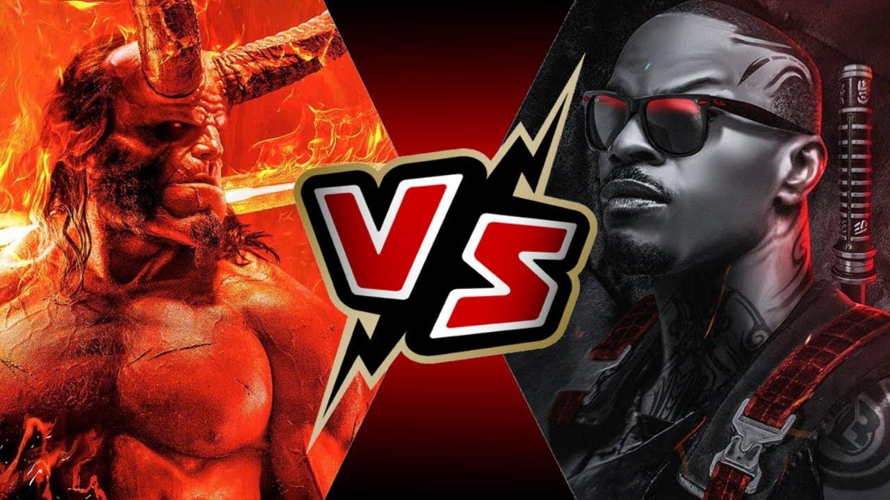 Image result for Blade vs. Hellboy