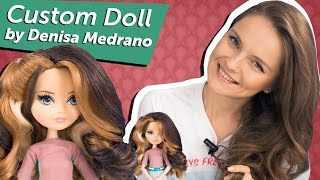 "Custom Doll by Denisa Medrano ""Bibi"" (Кастом из Блонди Локс ""Биби"") Ever After High Обзор\ Review"