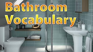 Bathroom Vocabulary | Learn english vocabulary with Pictures