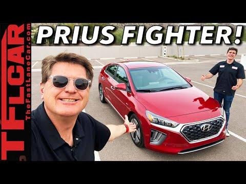Buddy Review - This 2020 Hyundai Ioniq Hybrid Has ONE Thing The Toyota Prius Doesn't!