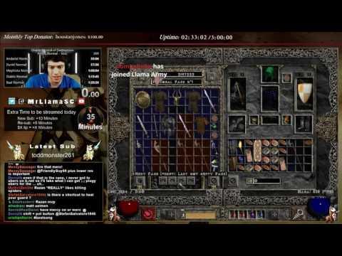 Diablo 2 - Solo Sorceress Ubers - SoSo Torch hunting!