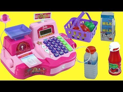 Barbie Market Seti   Barbie Türkçe izle   EvcilikTV Oyuncak Tanıtımı
