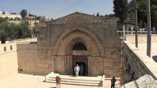 Tomb of Mary in Jerusalem Video