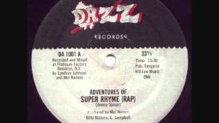 Jimmy Spicer - Adventures Of Super Rhyme (Rap) FULL LENGTH thumbnail
